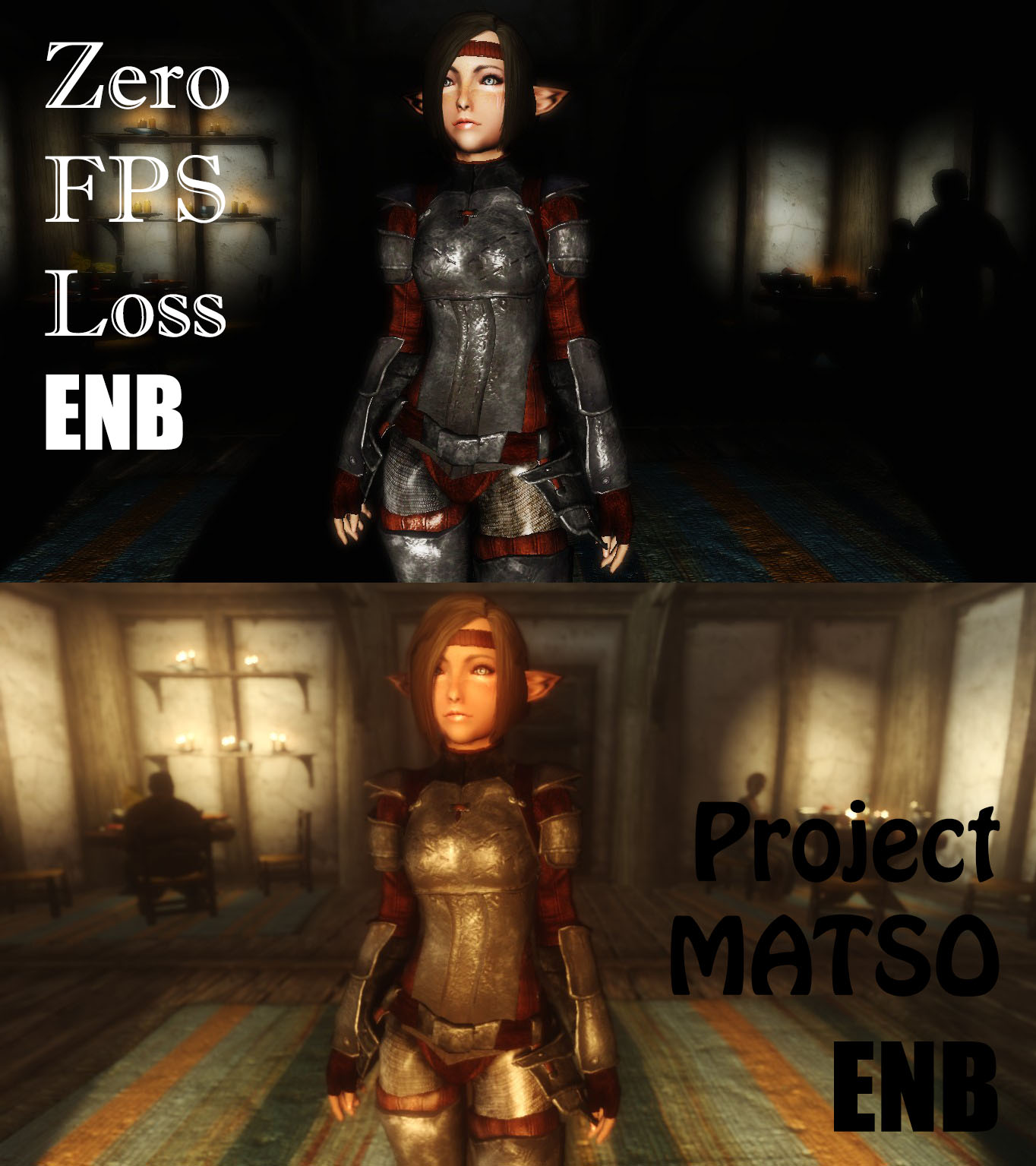 Project MATSO - Zero FPS Loss - ENB Comparison