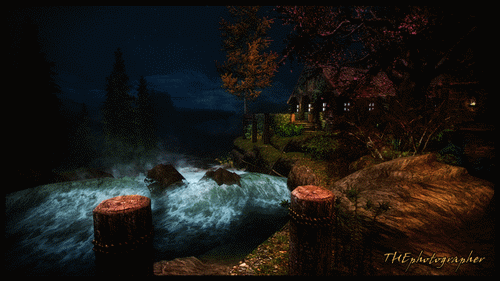 Riverwood by Night