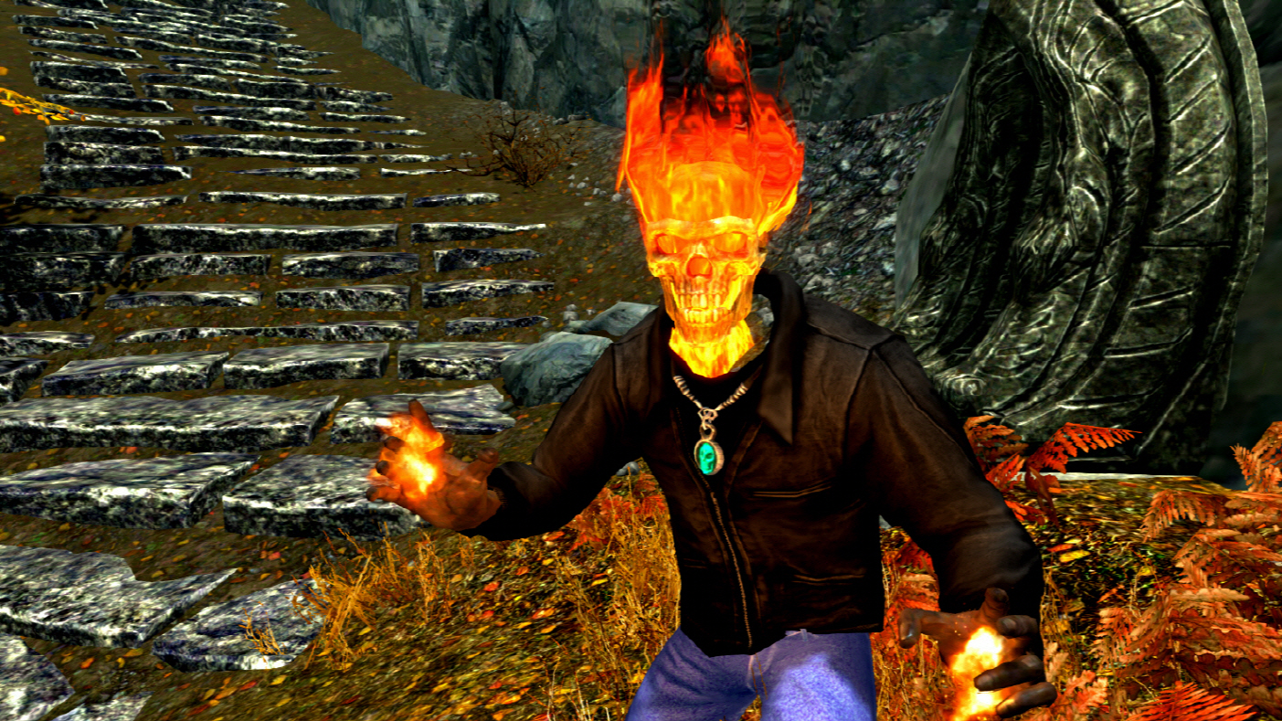 Ghost Rider At Skyrim Nexus Mods And Community