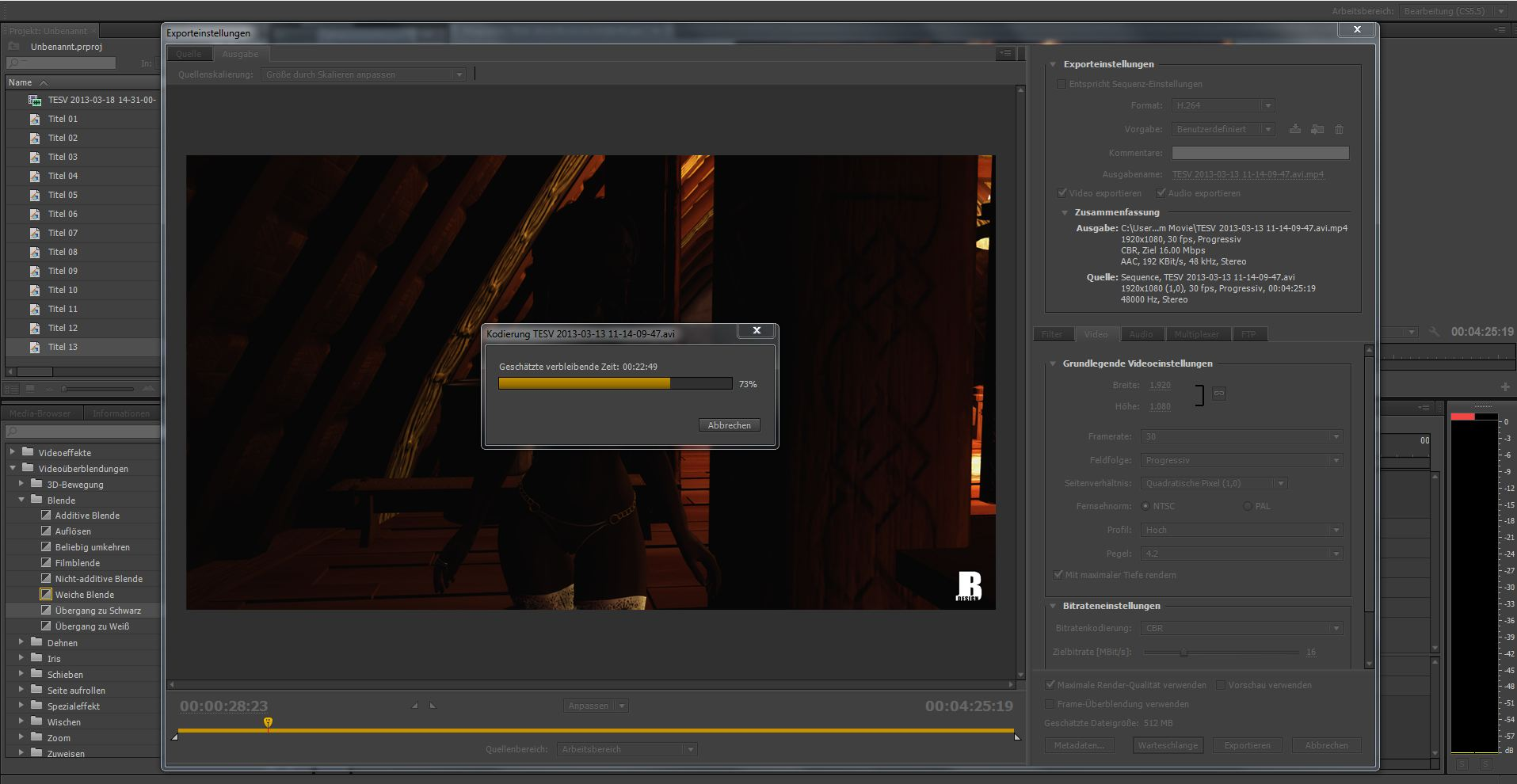 Skyrim Movie pt2 is rendering