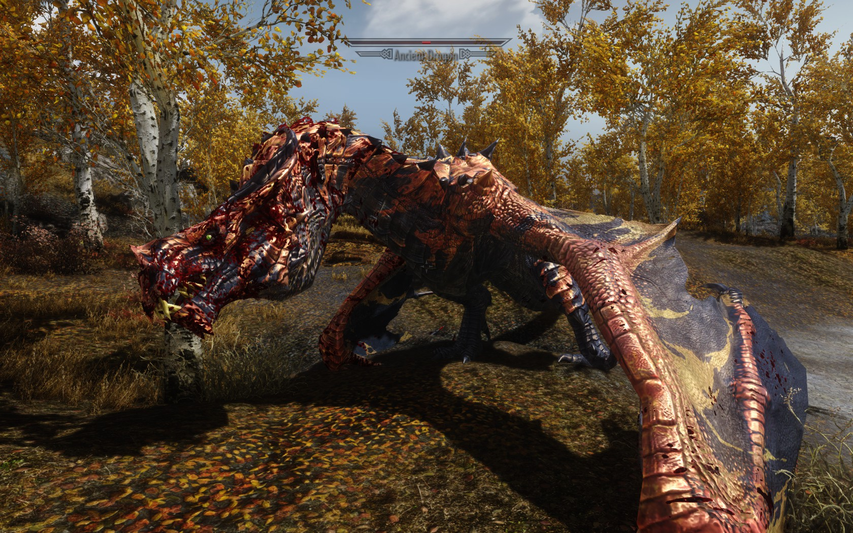 Ancient Dragon Outside Riften at Skyrim Nexus - mods and ...