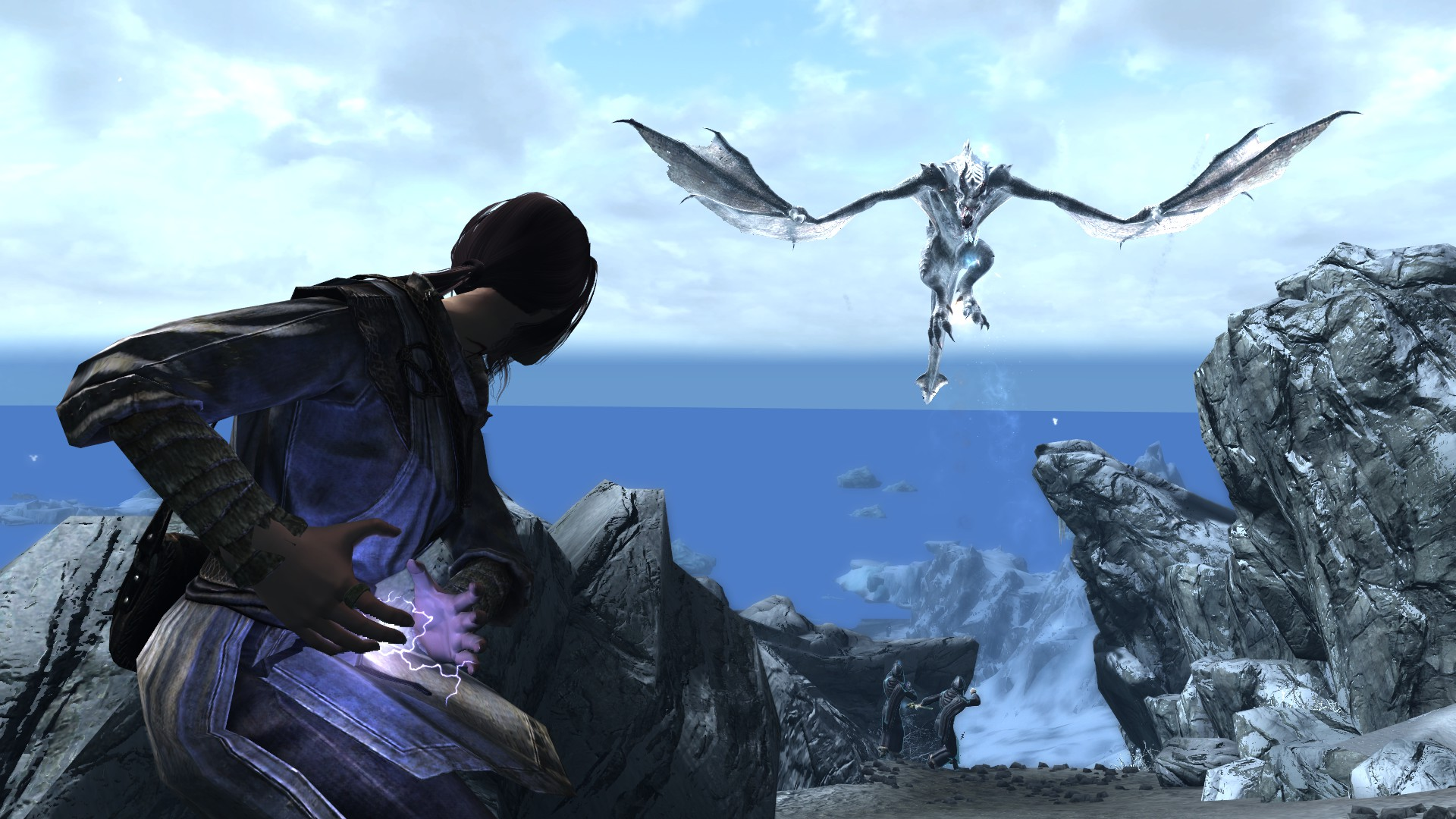 Frost Dragon at Skyrim Special Edition Nexus - Mods and