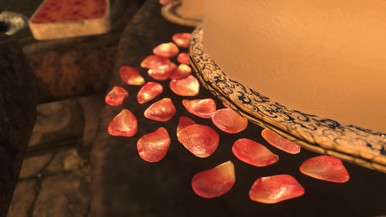 Sugared Mountain Flower Petals At Skyrim Nexus Mods And Community