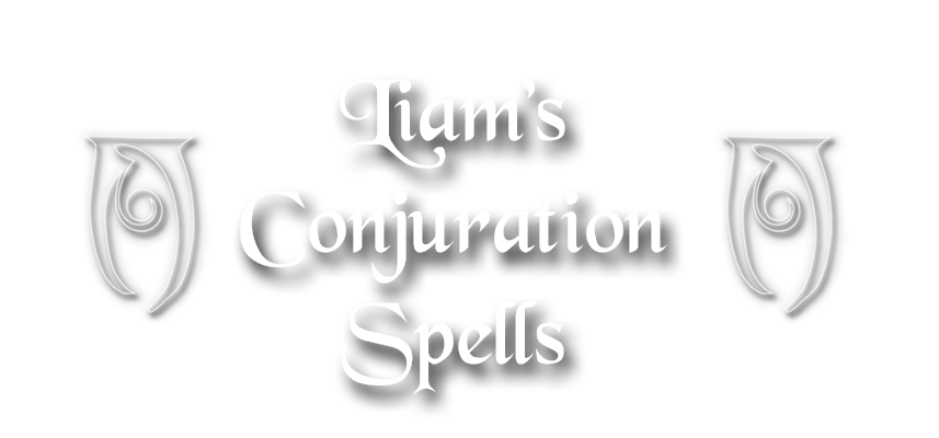 Liam's Conjuration Spells at Skyrim Nexus - mods and community