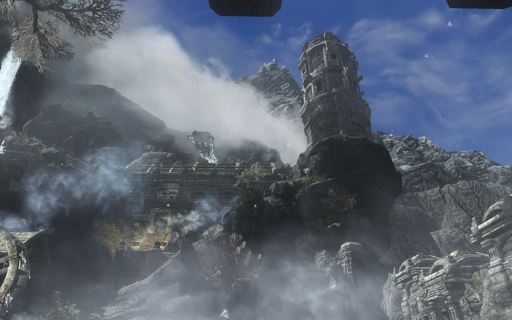 A Bustling Day in Markarth