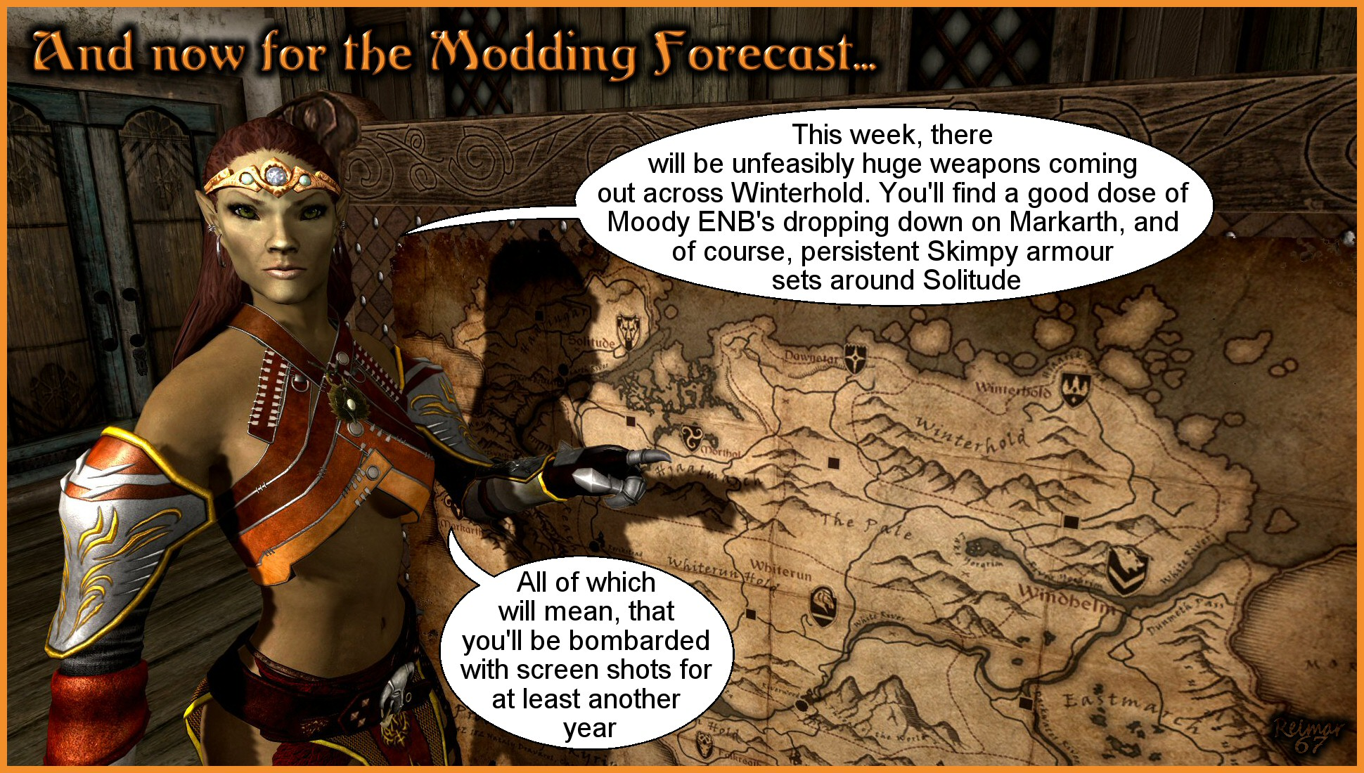 Modding Forecast