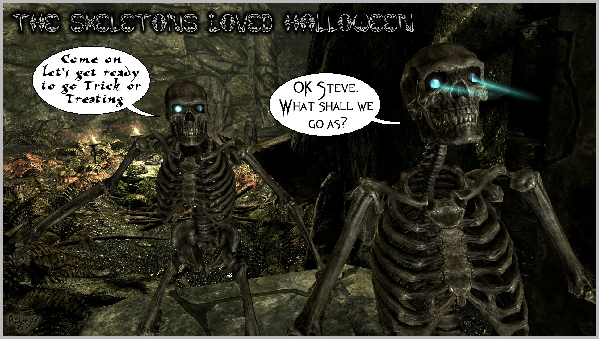 halloween costumes at skyrim nexus - mods and community
