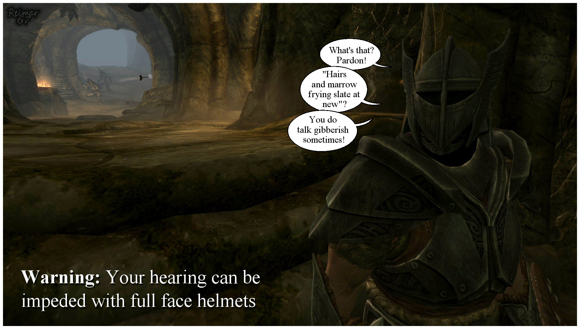 WARNING - Full Face Helmets