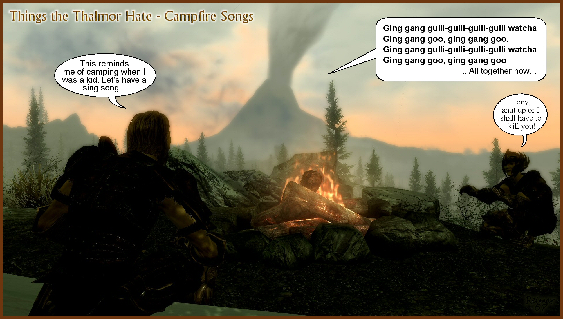 Thalmor Hate Campfire Songs
