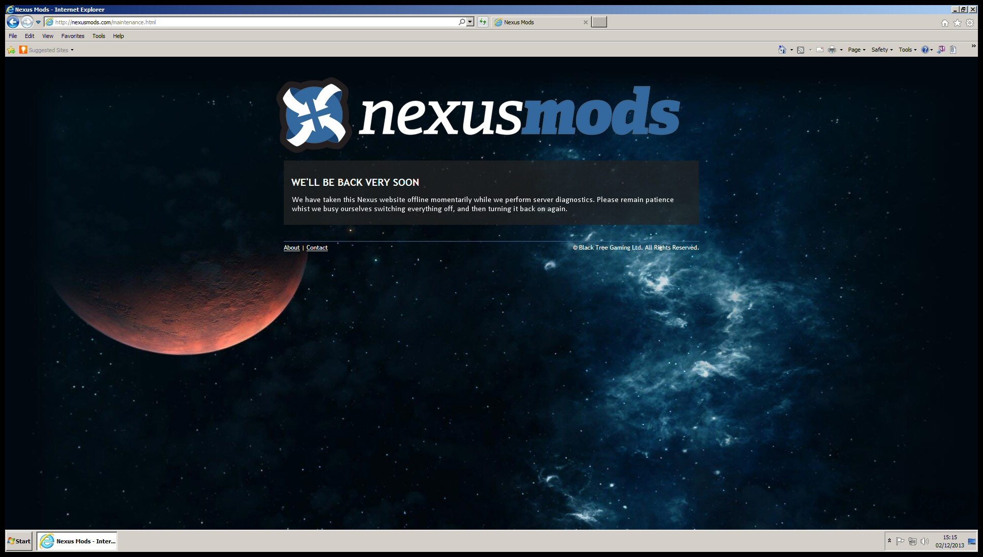 Nexus Back Soon