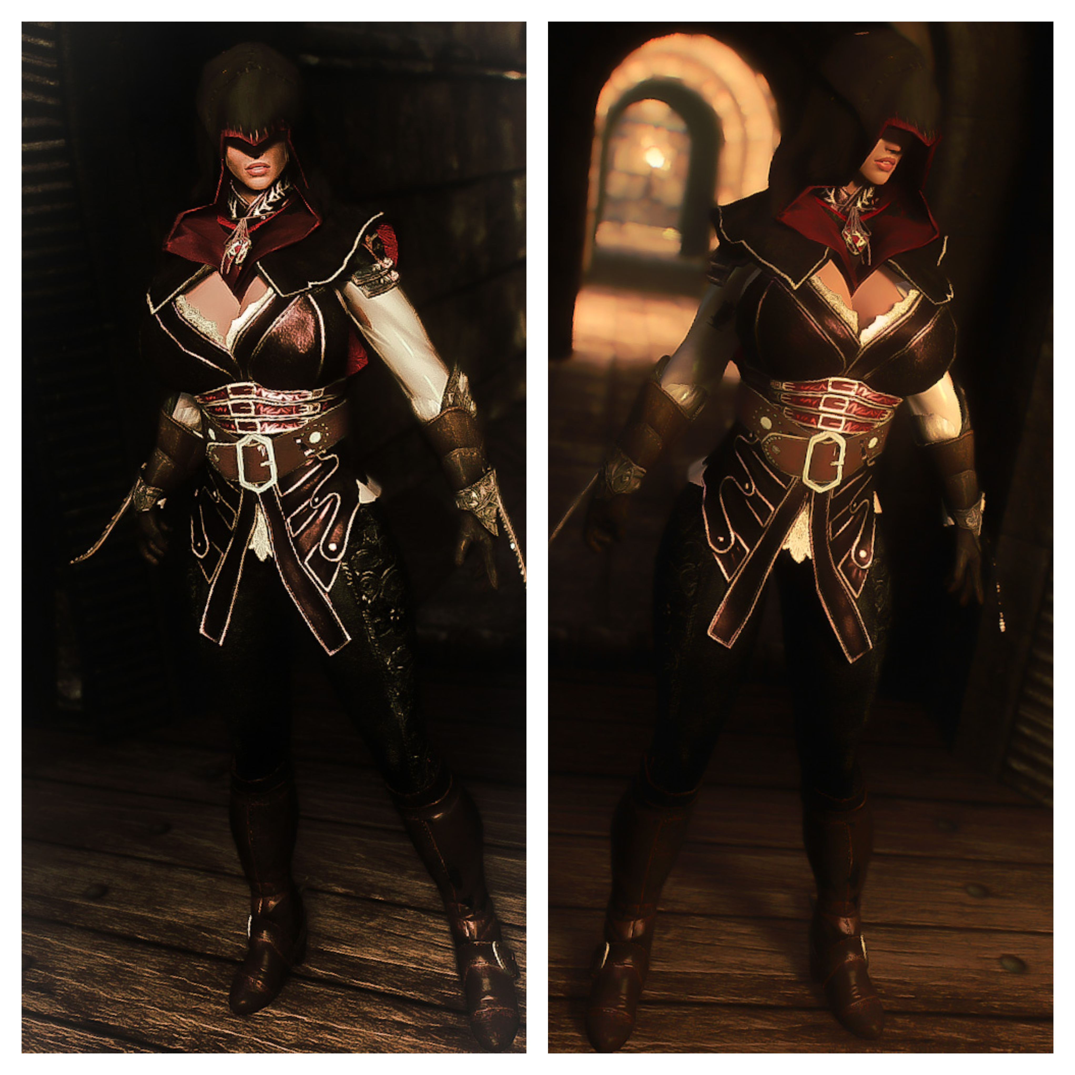 Assassin S Creed Inspired Armor Wip At Skyrim Nexus Mods And