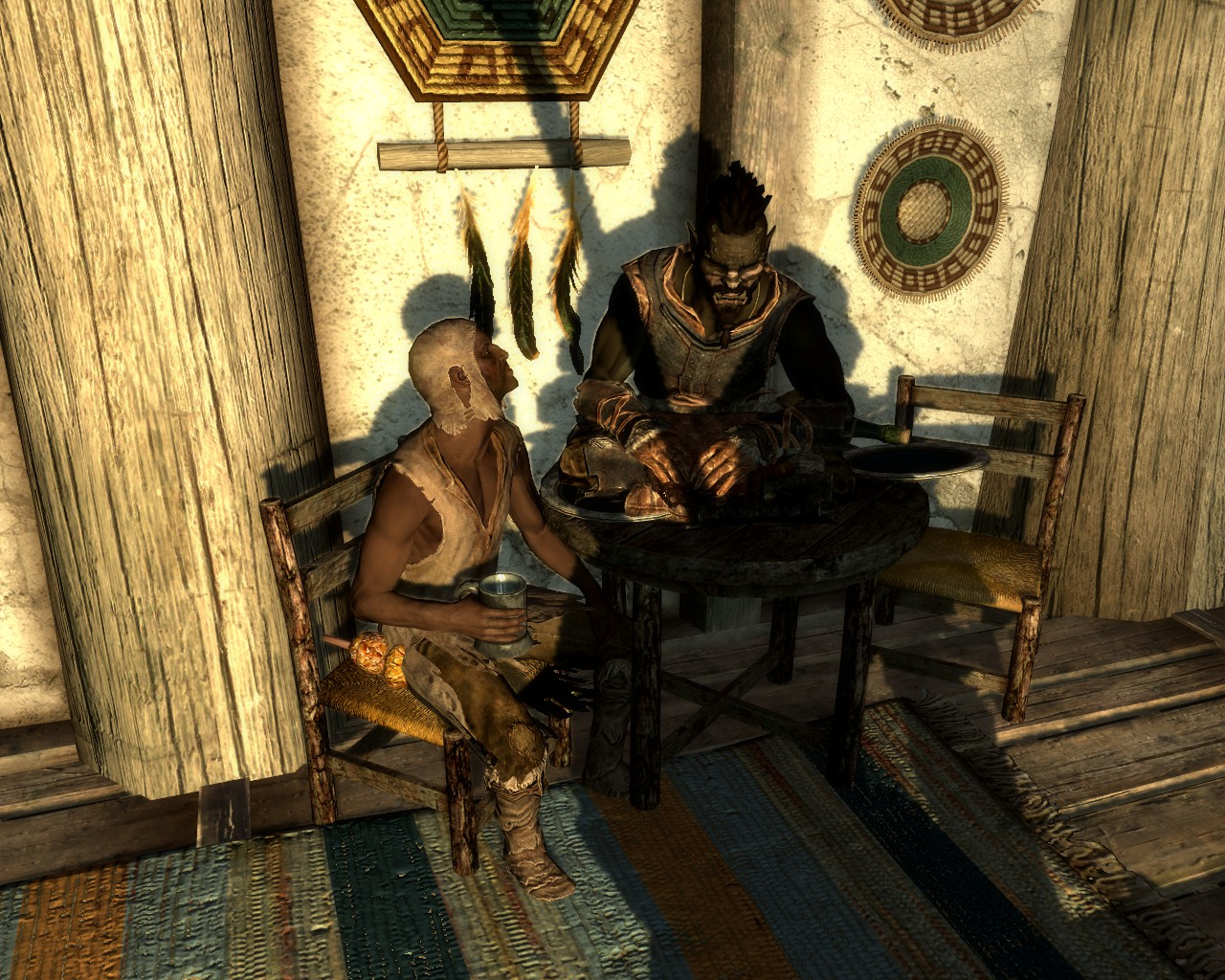Skyrim sitting event
