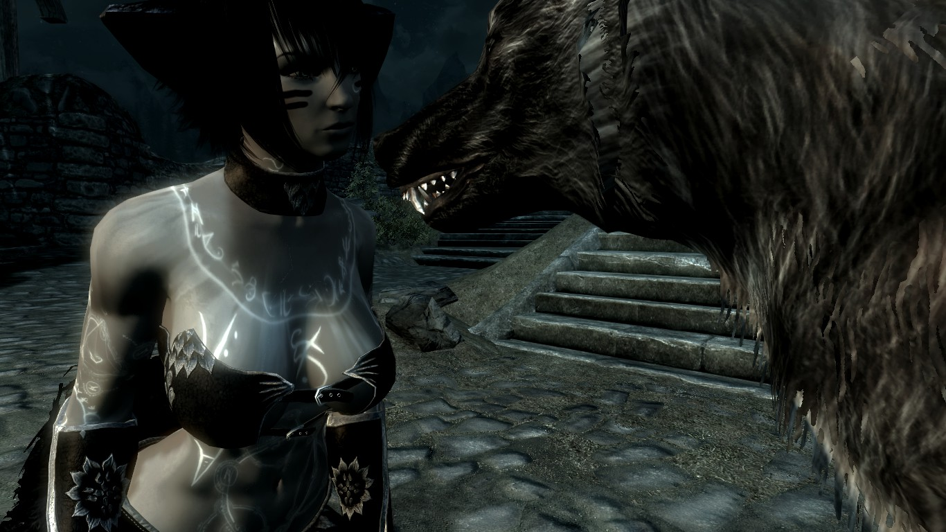 My Werewolf At Skyrim Nexus Mods And Community