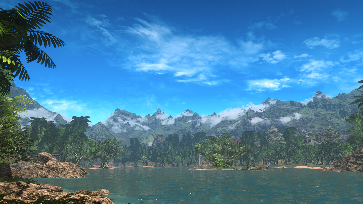 Tropical Skyrim ENB