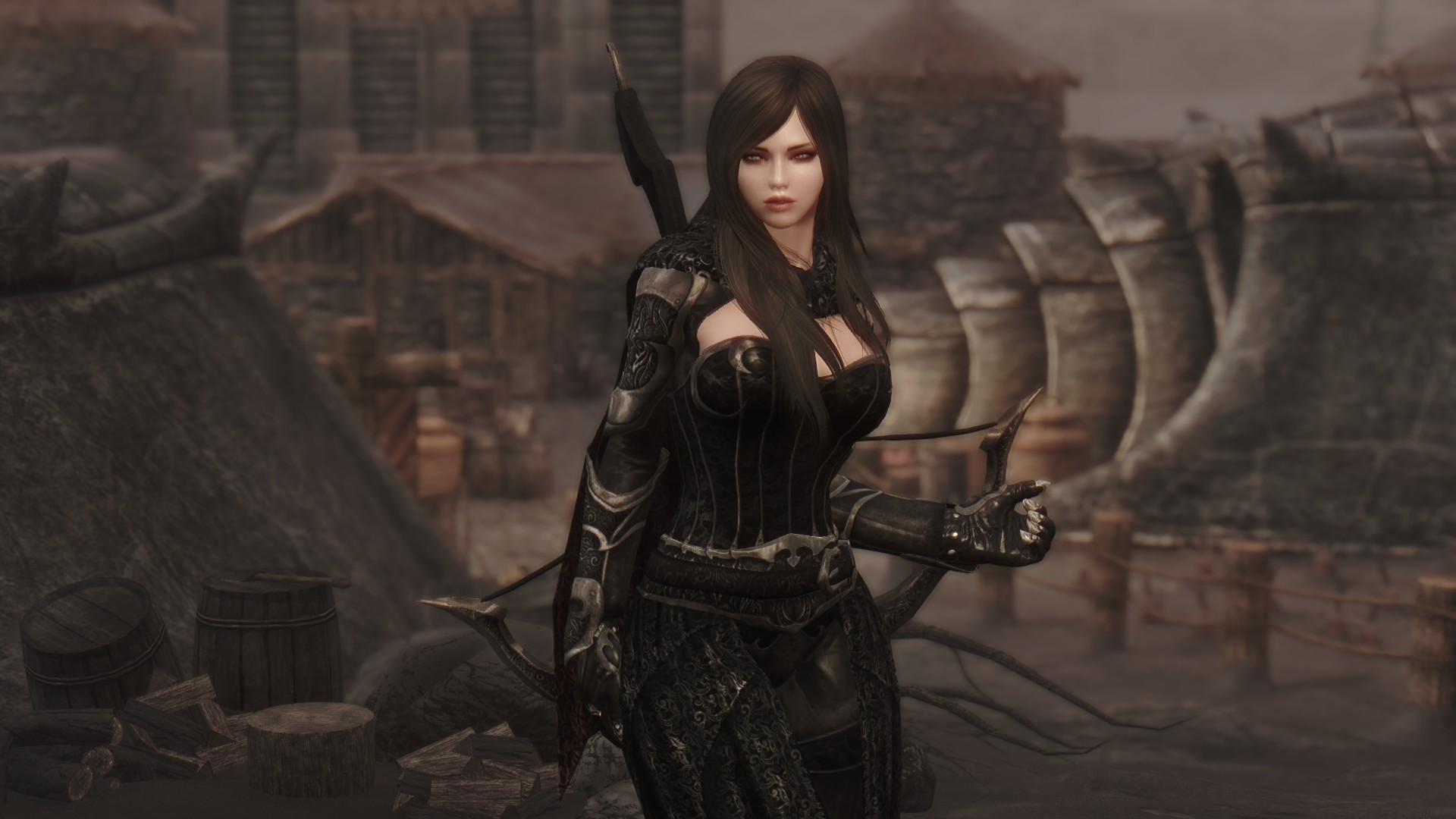 Skyrim female character mods xxx gallery