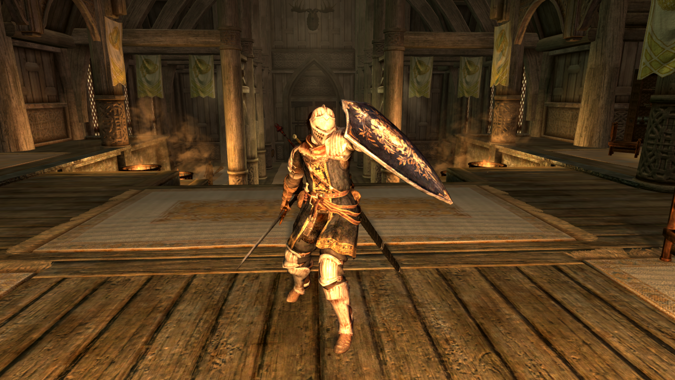 Dark souls Elite Knight Armor at Skyrim Nexus - mods and