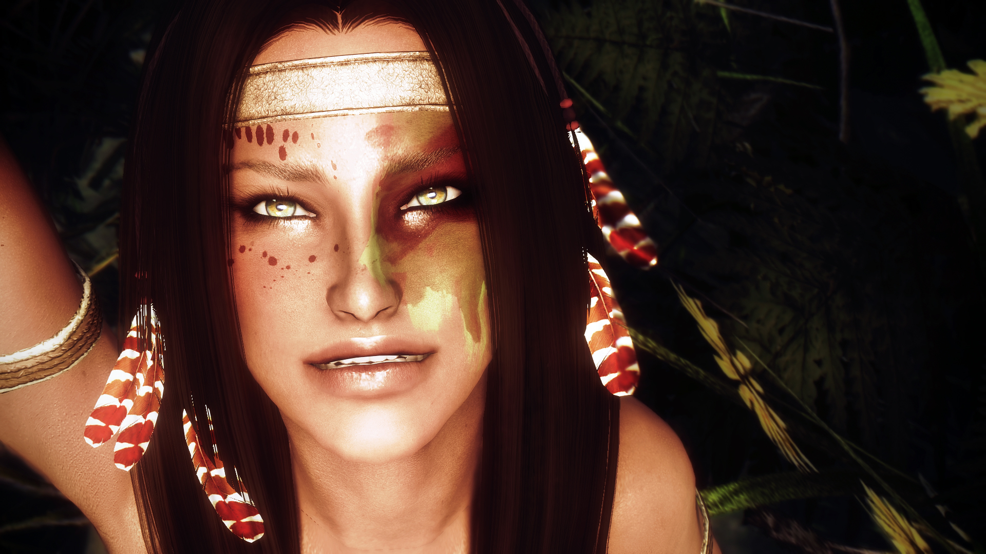 Warpaints VOL 2 WIP by SkyrimKnight2013 - Hippie Girl Edition
