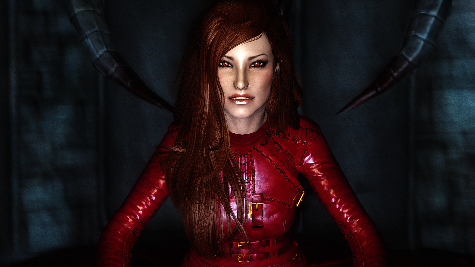 Mord Sith Cara Armor - Red to attack