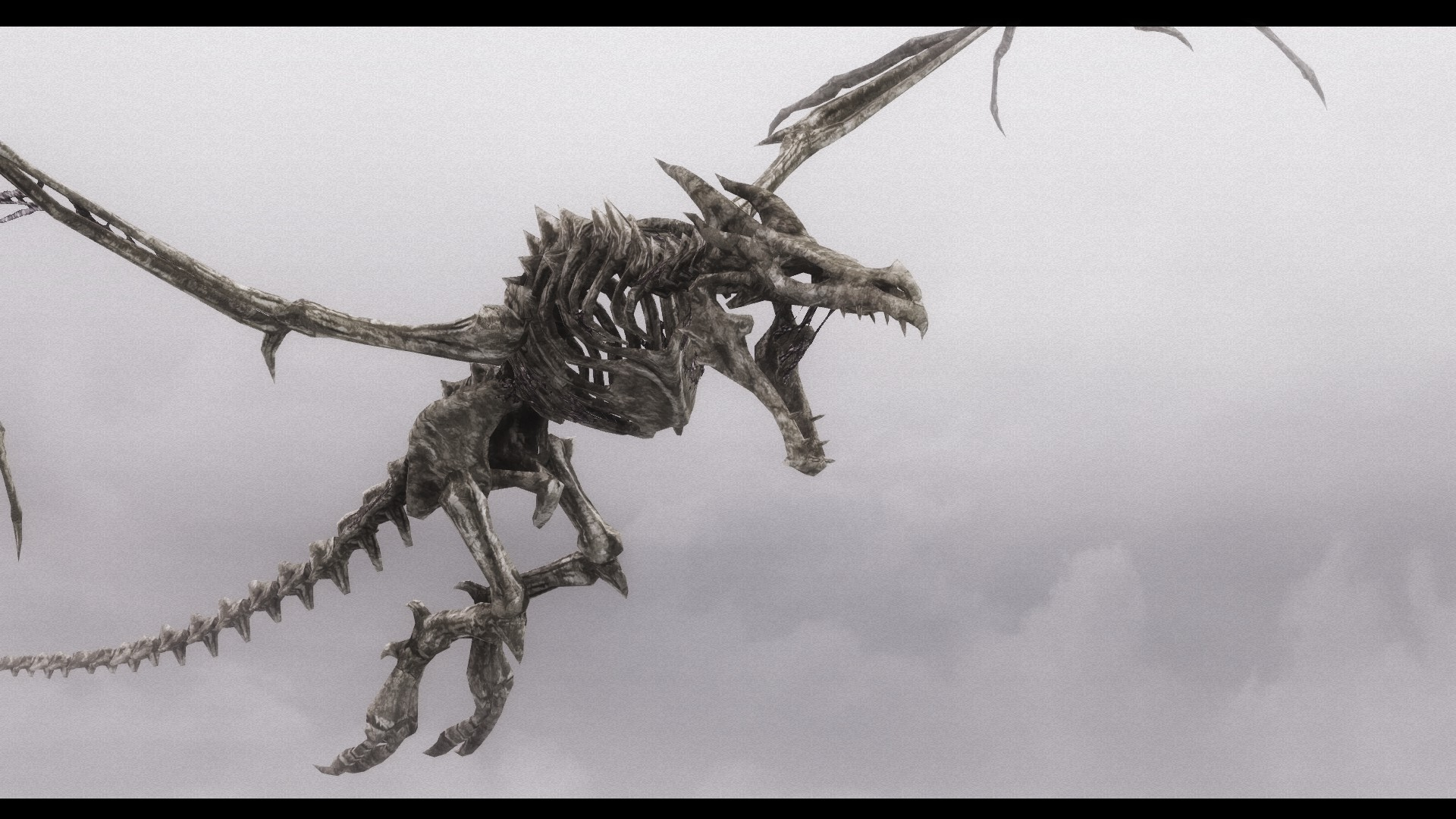 Soaring through the sky - Enhanced HD Dragon Bones