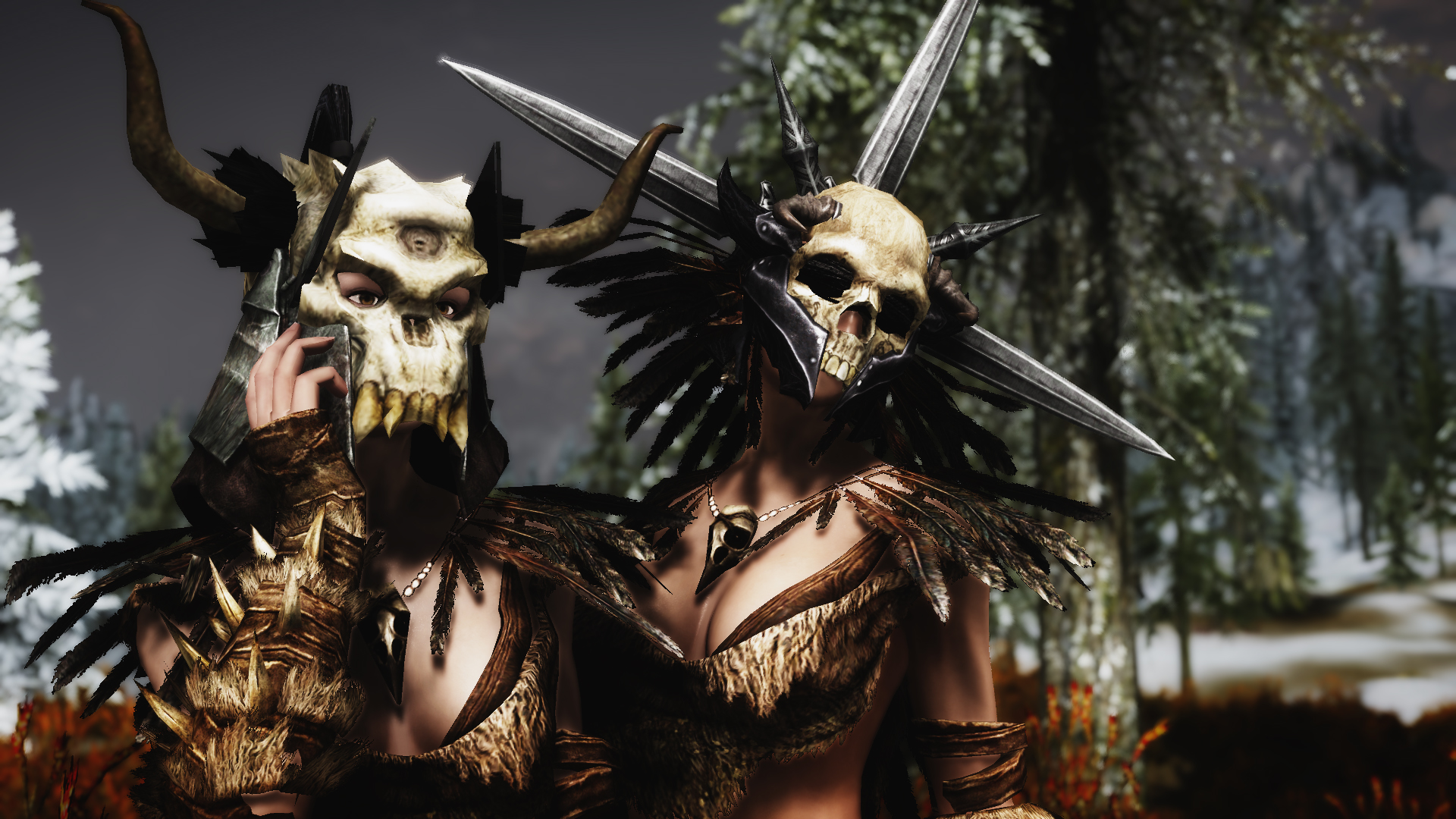 Awesome Skull Helms at Skyrim Nexus - mods and community