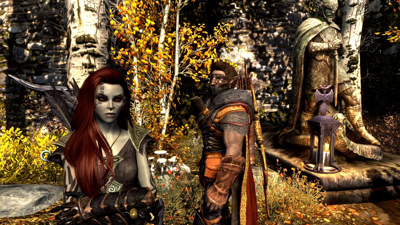 Meresine and Auveren in Riften
