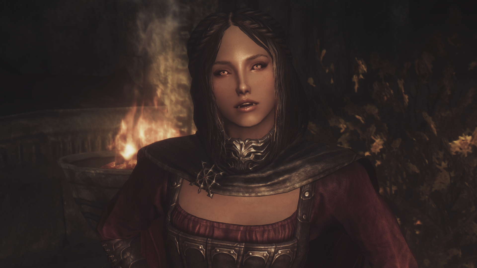 Seductress Serana vanilla look
