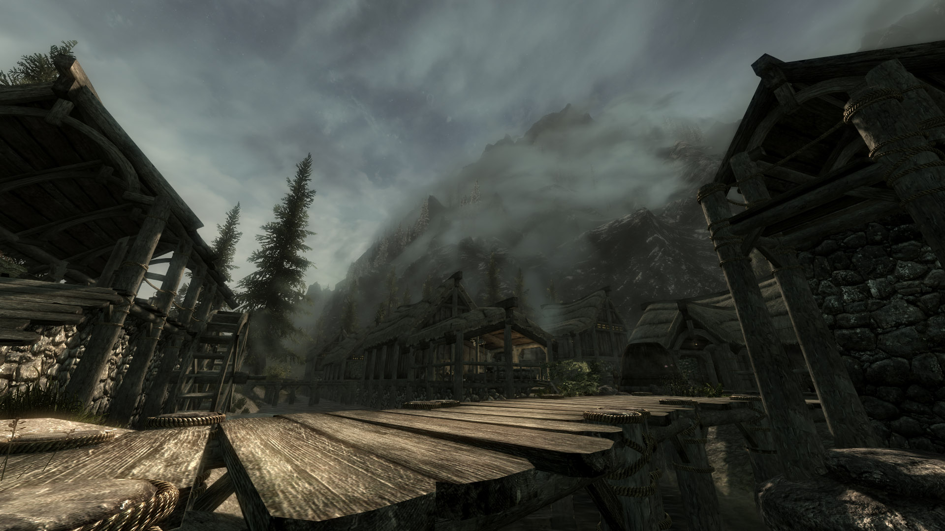 Dawn in Riverwood