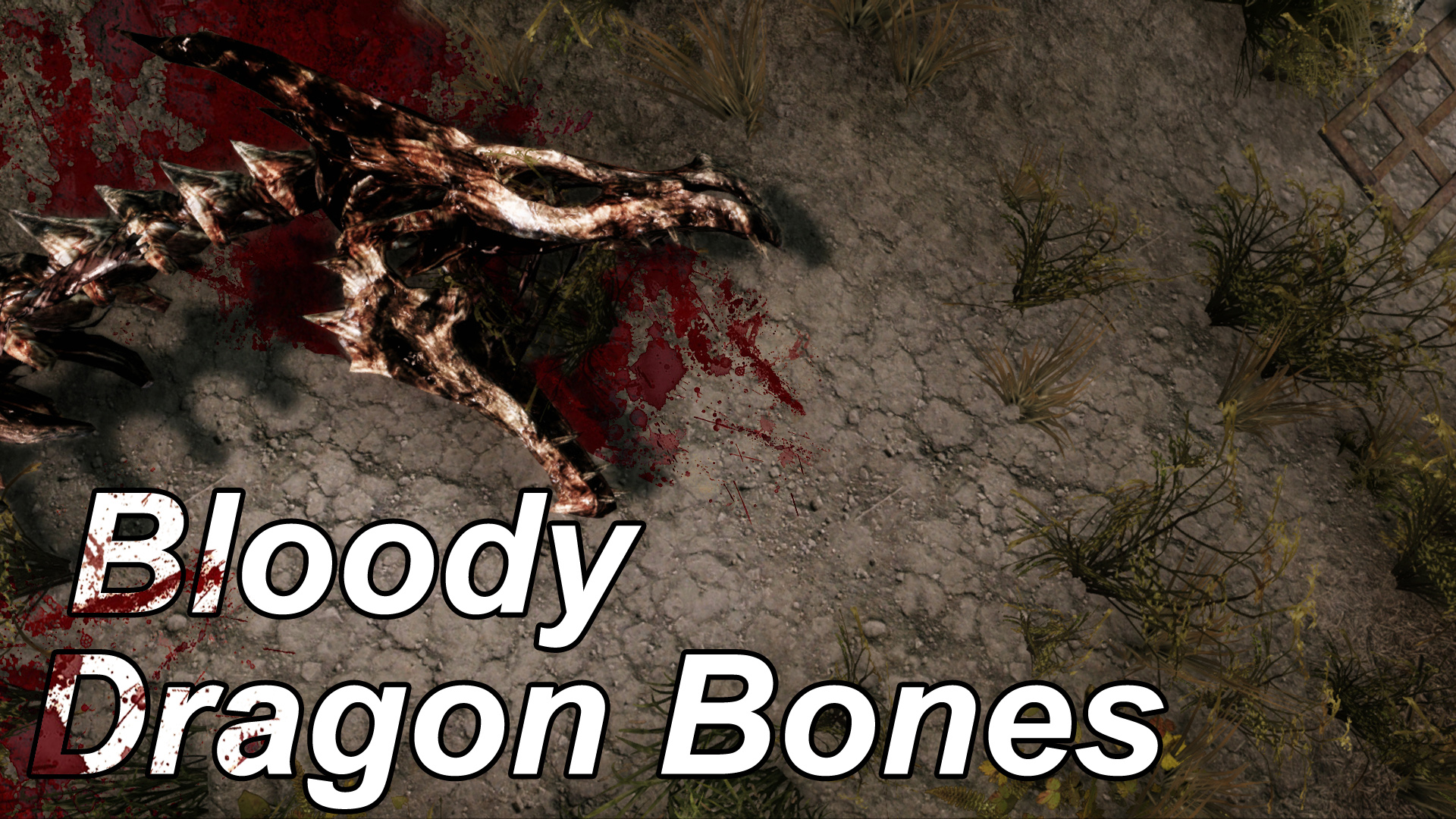 Bloody Dragon Bones Comparision Vanilla_1k_2k_4k ENB on off