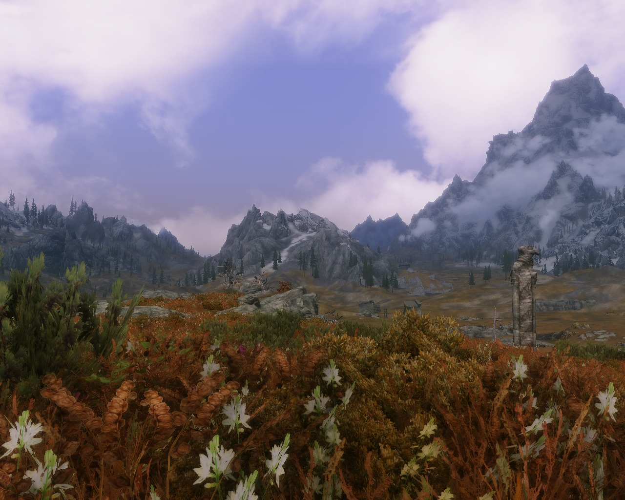 Beauty of Skyrim - Gjukars Monument