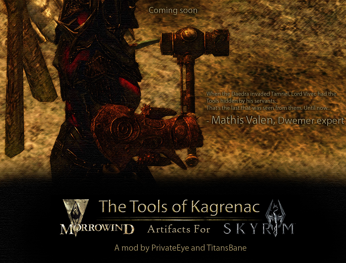 the tools of kagrenac