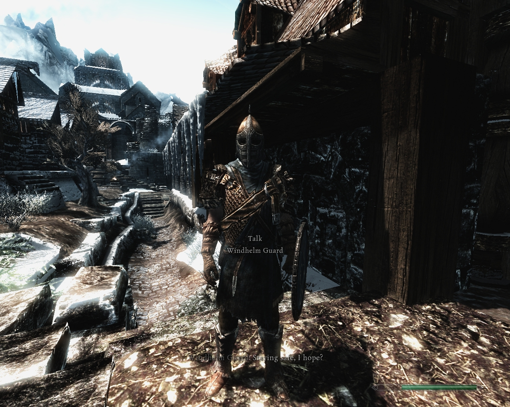 how to get to windhelm skyrim