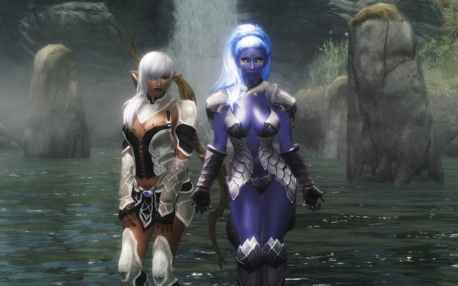 Flame and Frost Atronach Textures for Automatic Variants