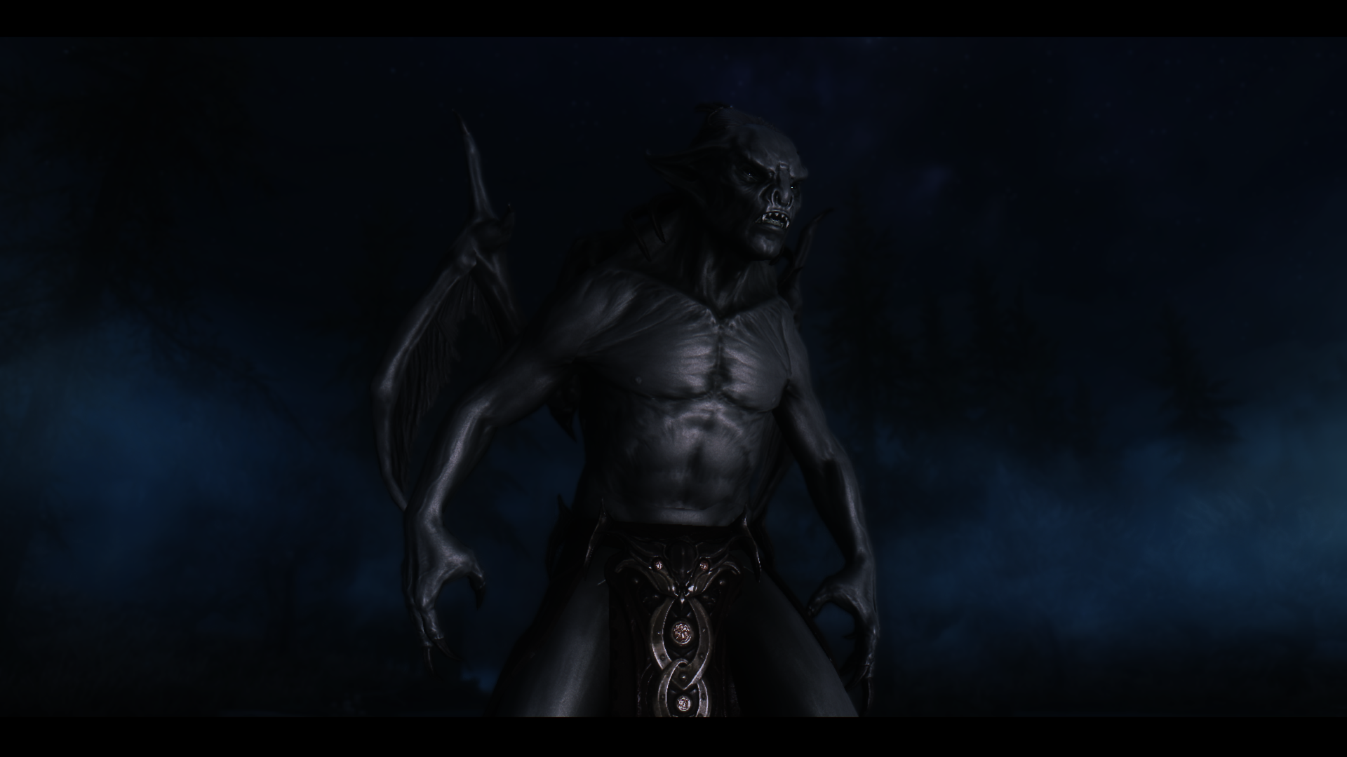 The Form Of The Vampire Lord At Skyrim Nexus Mods And Community