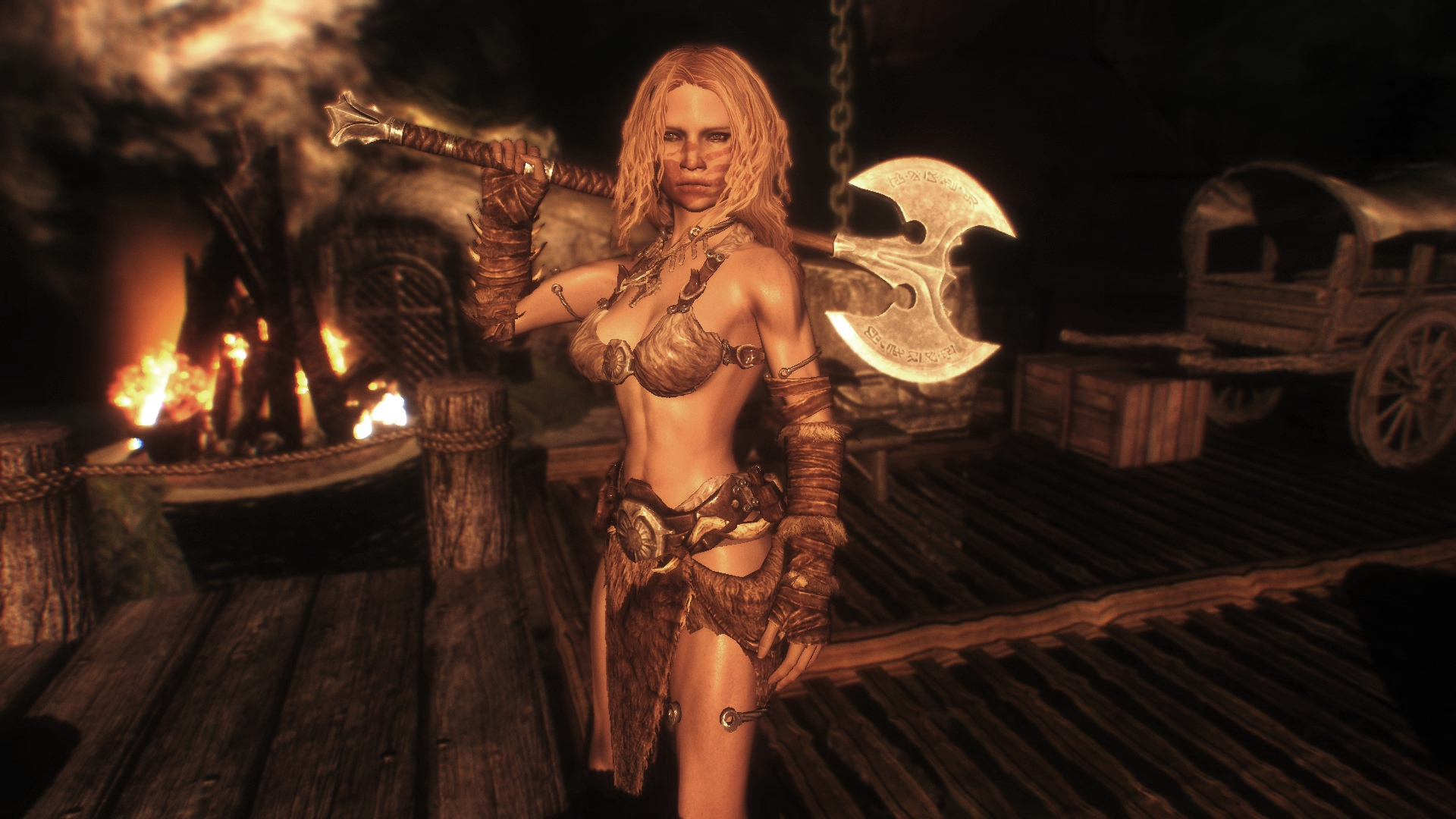 Female barbarian pictures sex images