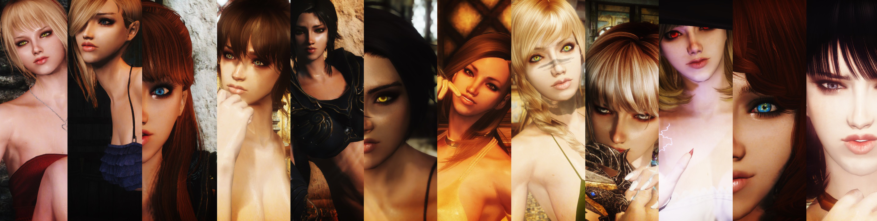 The Women of Skyrim
