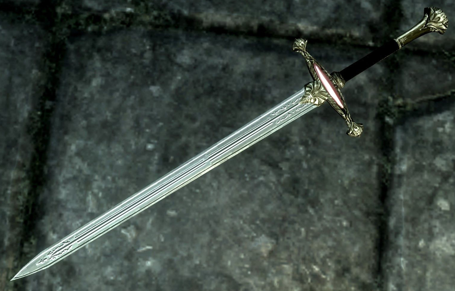 Chrysamere - Legendary Paladin Blade at Skyrim Nexus - mods and