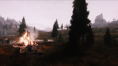 The Giant's Camp in the Whiterun