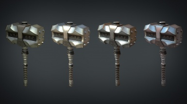 Work In Progress - Gifts of Akatosh - Hammer Textures