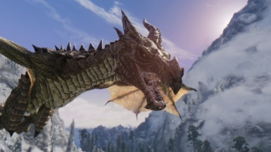 Bellyaches HD Dragon Replacer and Project ENB