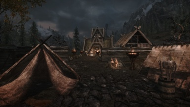 Thornrock with The people of skyrim