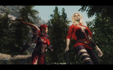 Scarlet and Serana