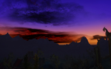 Fantasy sunset part 1