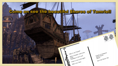Postcard to my Friends from TESO