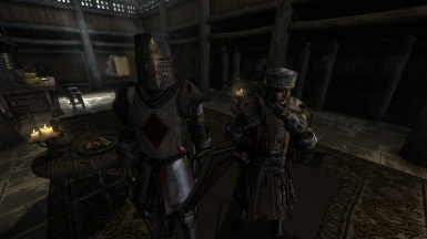 Crusader and Cleric