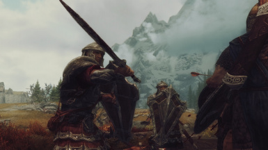 Battle with Stormcloaks