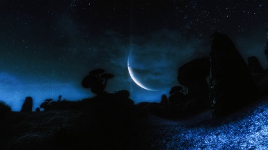 Echoes of the Past - Vvardenfell at Night