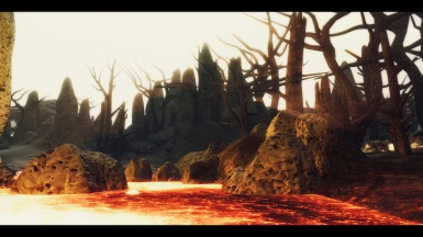 Echoes of the Past - Lava and Sun