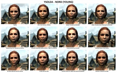 Face Mods - Female 1