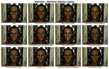 Face Mods - Female 2