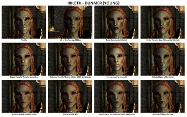 Face Mods - Female 3